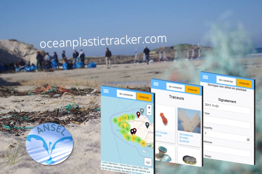 Ocean Plastic Tracker, la cartographie collaborative des déchets plastiques !