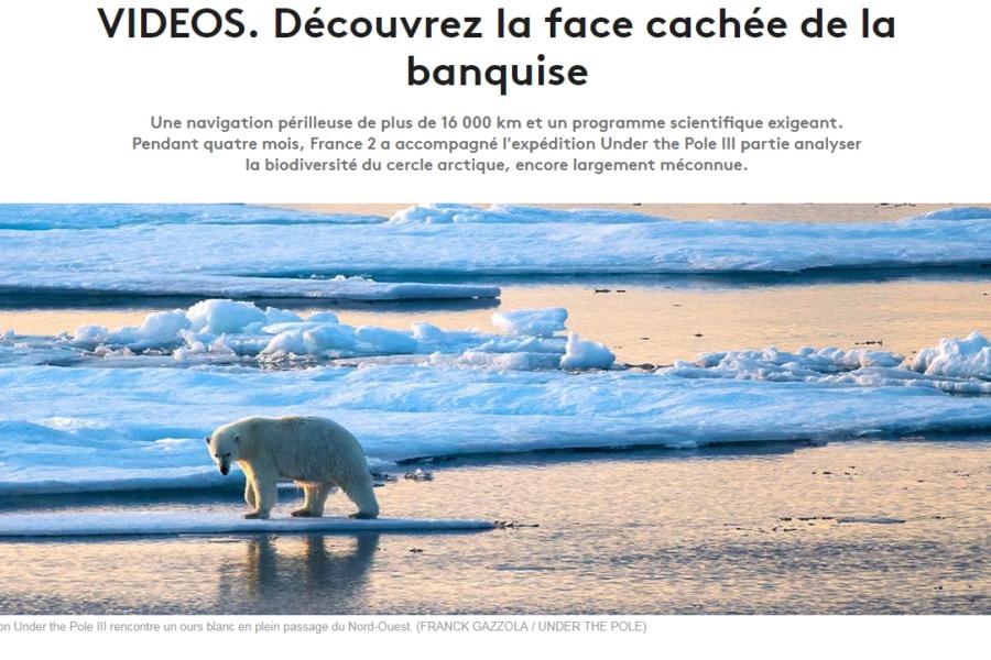 [En Bref] Sur France 2, de Concarneau à l'Alaska avec Under the Pole