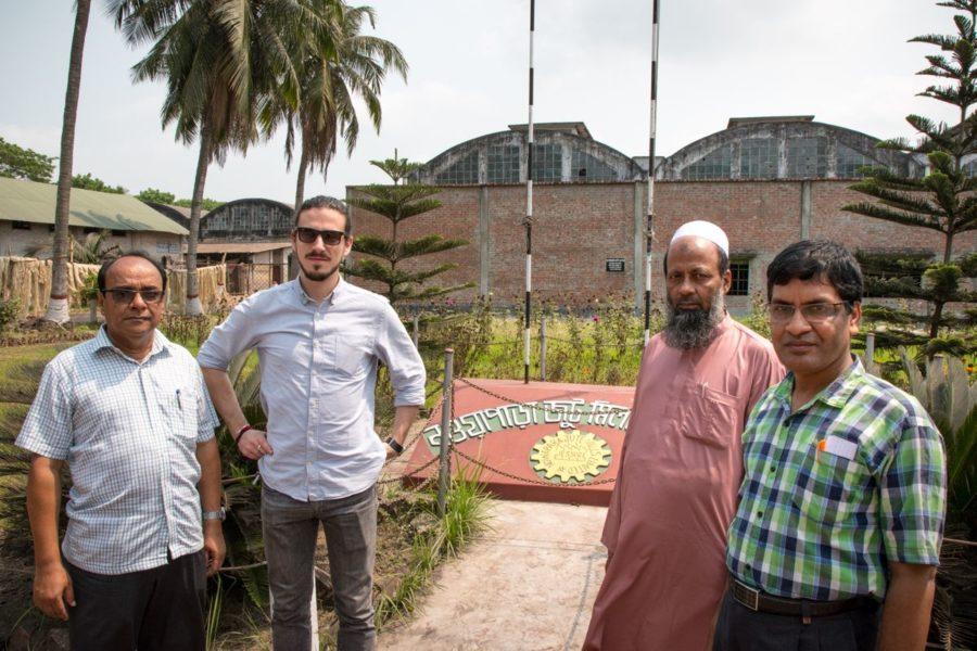 Jute Lab. Une mission en Inde et au Bangladesh pour préparer la suite d'Agami.