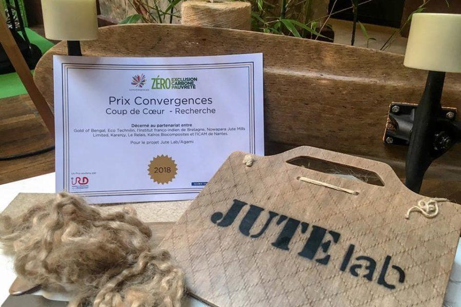 Le projet Agami du Jute Lab lauréat du Prix Convergences – Coup de Cœur – Recherche !