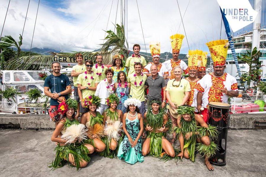 Premières plongées prometteuses en Polynésie française pour Under The Pole