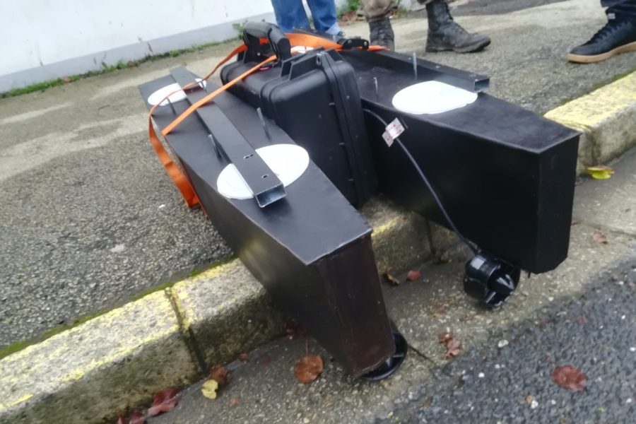 Du nouveau côté drone marin pour Ocean is Open