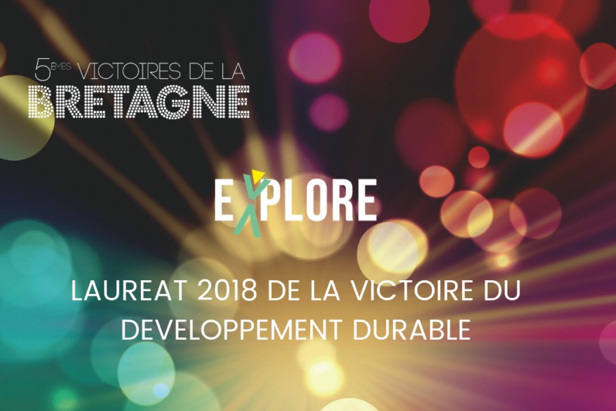 Explore lauréat des Victoires de la Bretagne 2018 !