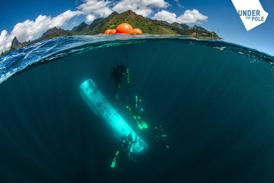 Under the Pole : les plongeurs vivent 3 jours et 3 nuits sous la mer
