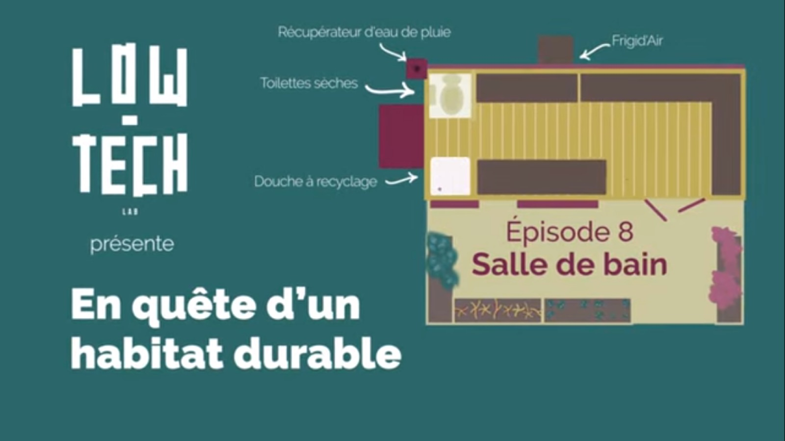 Low-tech lab - Habitat low-tech Webdoc En quete d'un habitat durable