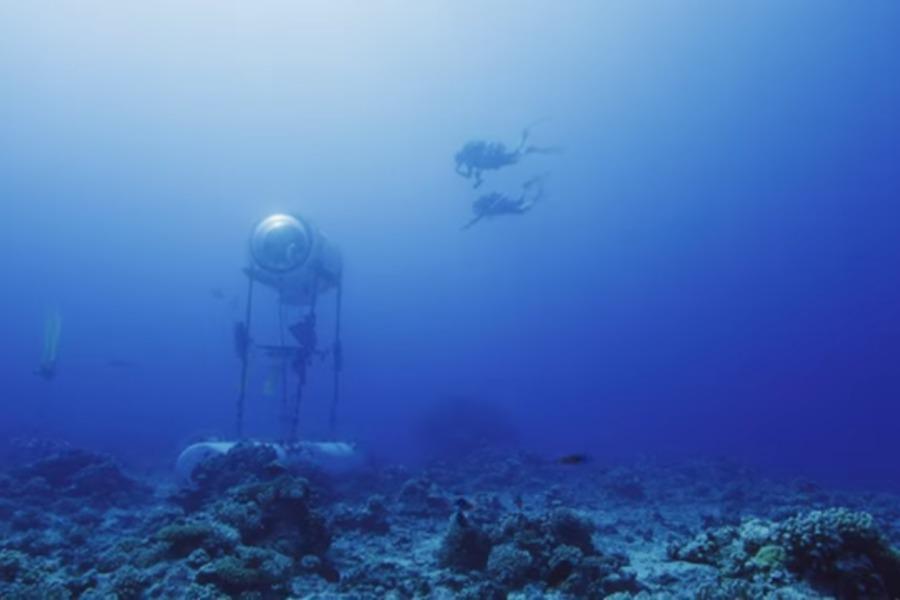 Nouveau Webdoc Under the Pole «Venez vivre 3 jours sous l'océan !!»