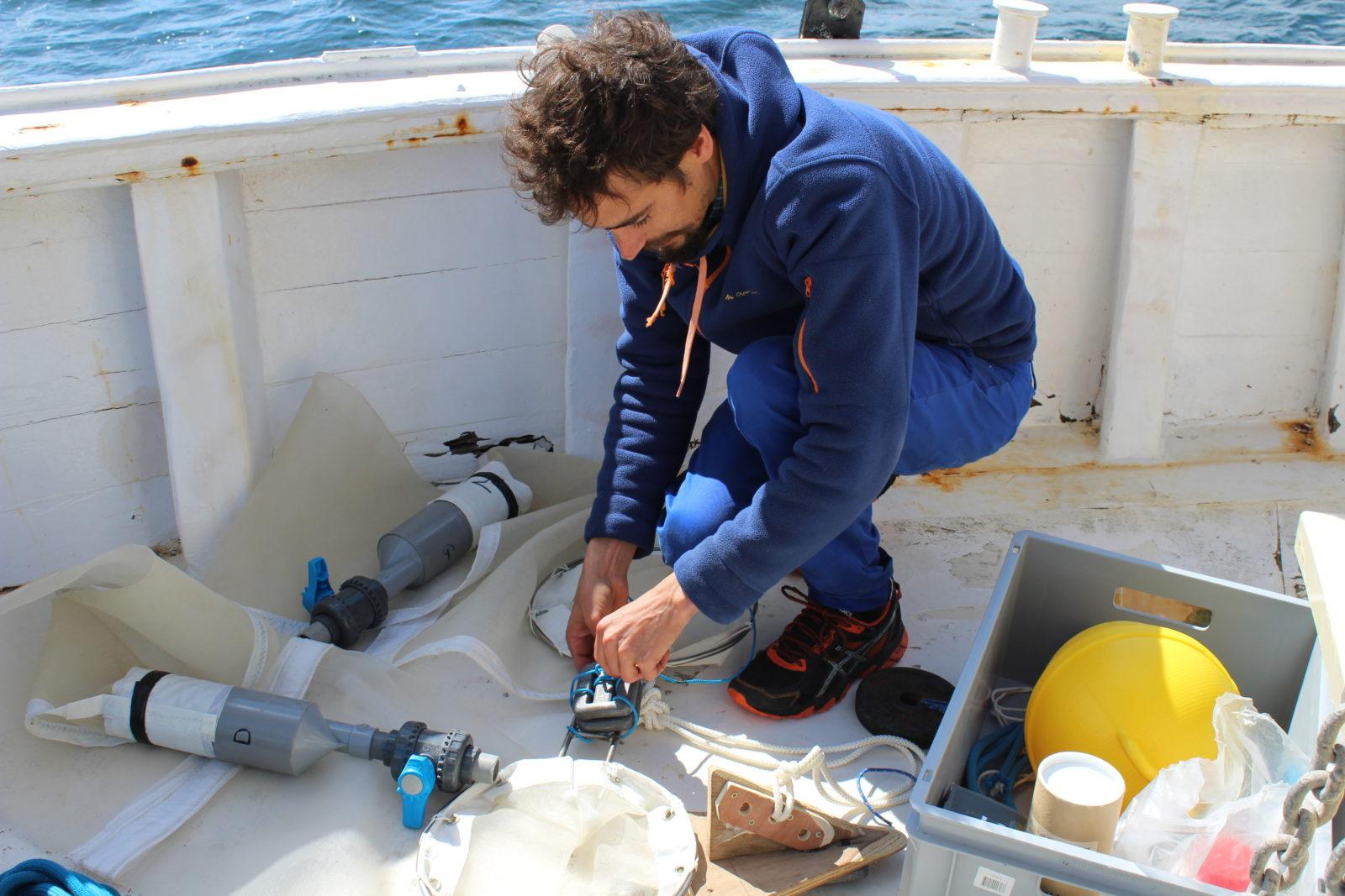 Scicnces participatives filet objectif plancton emmanuel Poisson quinton