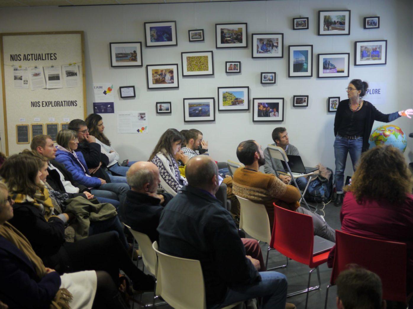 Afterwork sciences participatives Isabelle Leviol 23 janvier Explore