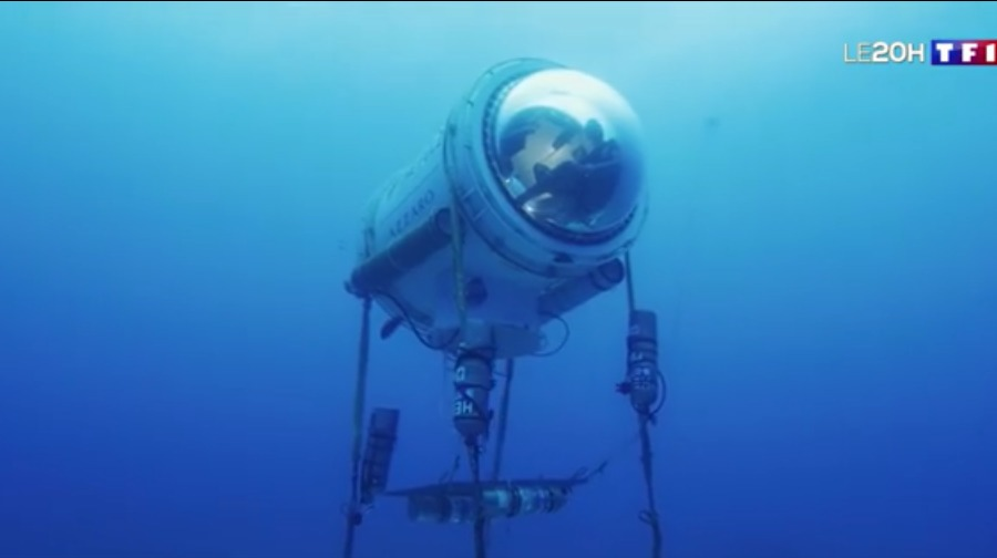 Le 20h – Vivre sous l'eau pour mieux explorer le monde sous-marin