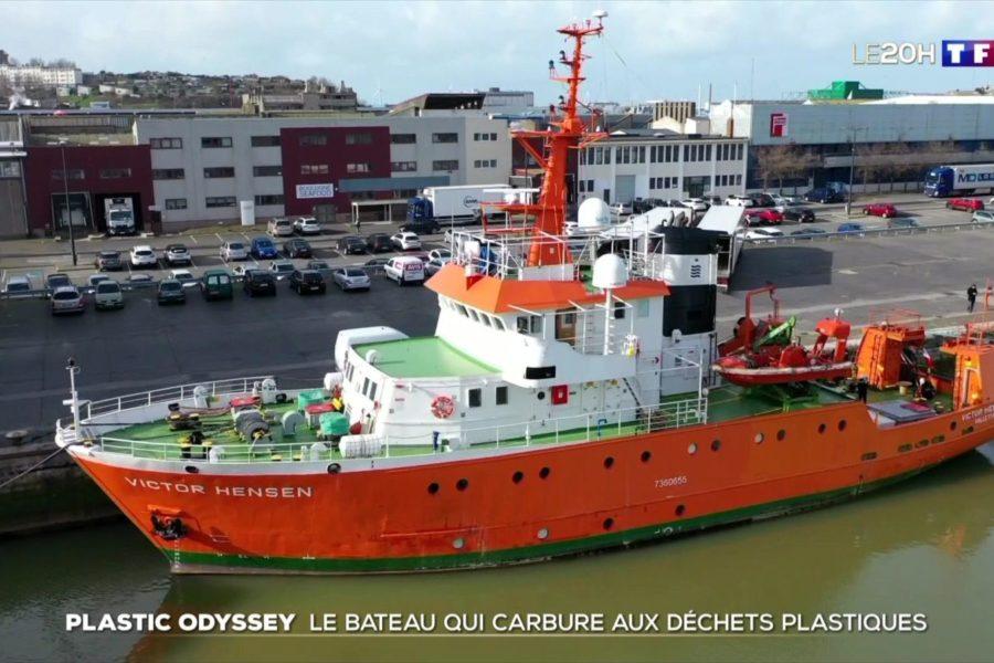Le 20H : Plastic Odyssey, le bateau qui carbure aux déchets plastiques