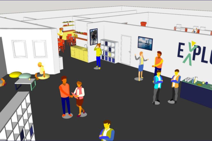 Une immersion virtuelle à la base Explore