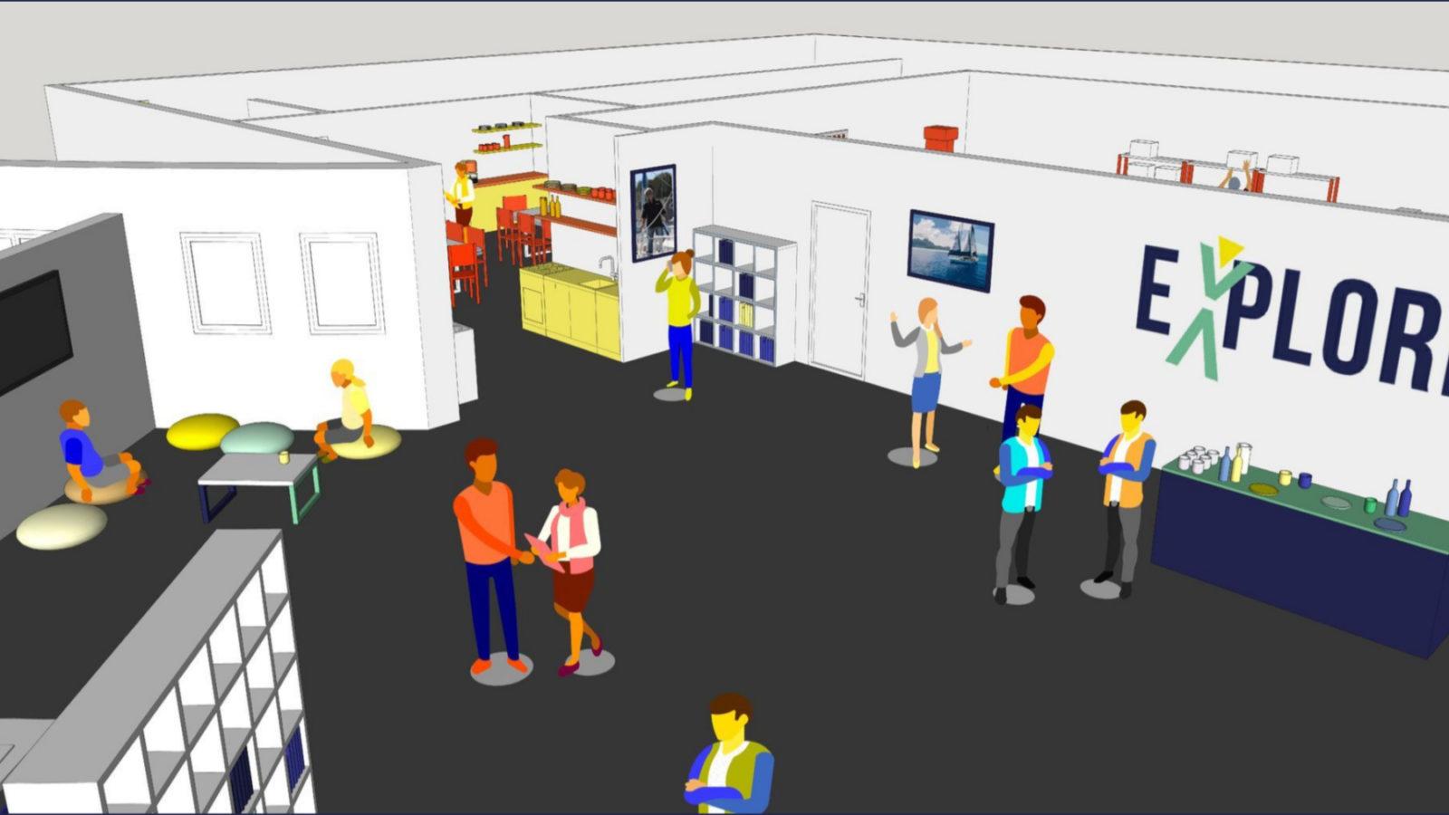 aperçu de la base virtuelle Explore