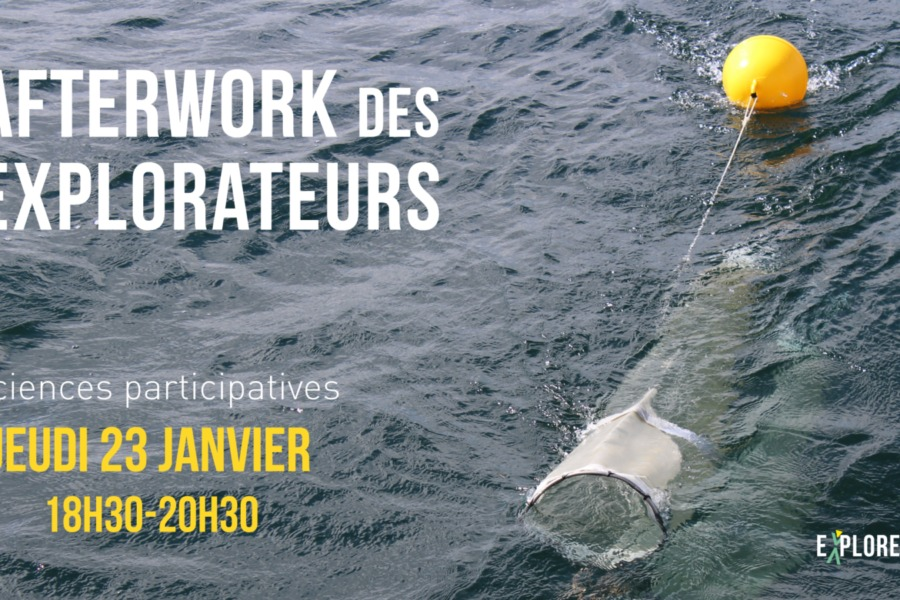 Afterwork des Explorateurs- Sciences Participatives