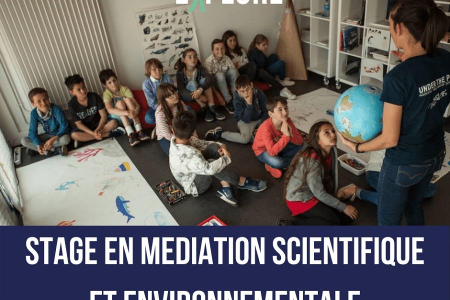 Offre de stage en médiation scientifique et environnementale