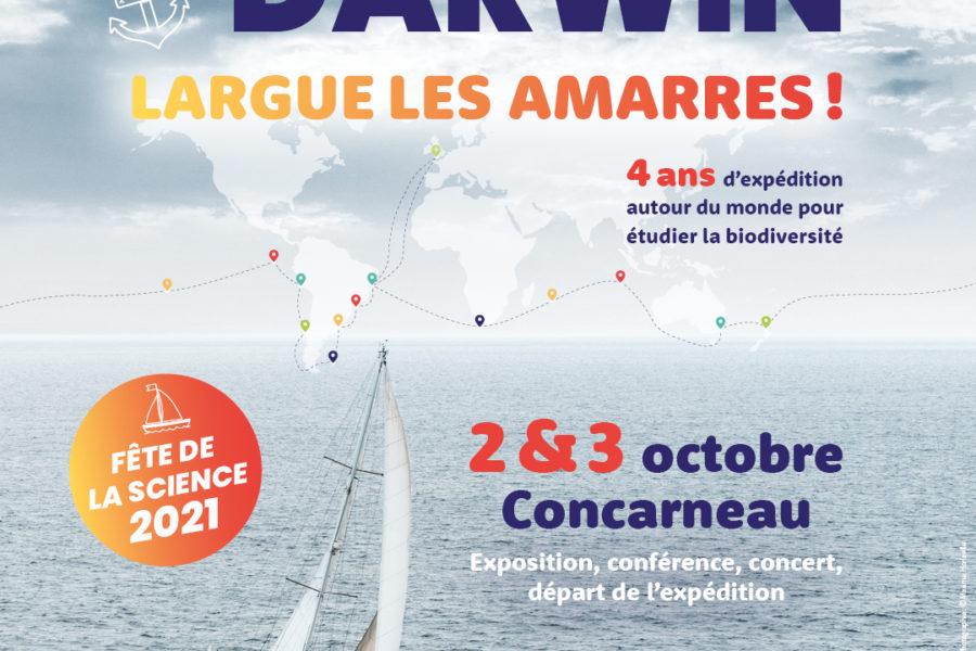 Captain Darwin largue les amarres ! – Départ de l'expédition